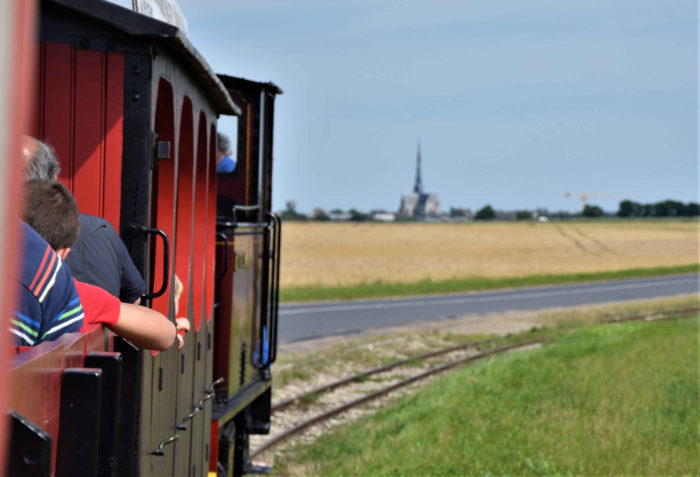 Le train touristique de Pithiviers en circulation